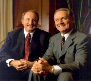 Bud Haney and Jim Sirbasku