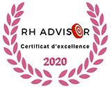 Certificat d'excellence RH Advisor